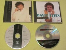 David Essex Back to Back & You're In My Heart 2 CD Albums Pop Rock – Mint