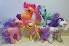 Hasbro My Little Pony 5 Ponies *None Double...* MC DONALDS  #a11