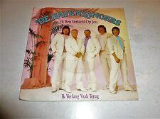 """DE HAVENZANGERS - Ik Ben Verliefd Op Jou - 1989 Dutch 7"""" Juke Box Vinyl Single"""