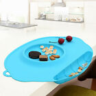 Mat Baby Kids Table Silicone Food Dish Placemat Plate Bowl Home Tool pop