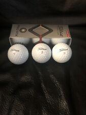 Titleist Pro V1x New Golf Balls Sleeve of 3 Balls