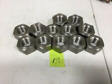 """1"""" - 8 Stainless Steel Hex Nut, Lot Of 12"""