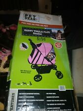 Pet Gear  Happy Trails Pet Stroller.  Color pink and black