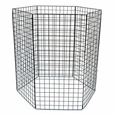 600 Litre Garden Compost Bin Wire Mesh Recycling Composting Kitchen Waste Leaves