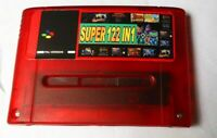 BEST 122 in 1 Super Nintendo SNES Multi Cart Game Card Cartridge PAL EUR Console