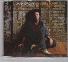 (GR21) David Jordan, Sun Goes Down - 2007 DJ CD