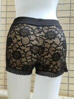 Cute black Mori Two Layers Lolita Lace Modal Bloomers Pantaloons Shorts cosplay