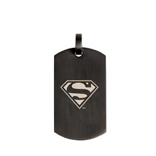 Origami Owl Justice League Black Batman Superman Tag or Chain