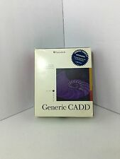 Generic CADD Release 6.1 dos 1.44mb made in the usa 2D design and drafting tool