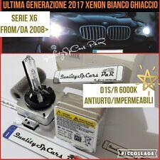 2 Lampadine XENON D1S BMW X6 E71 F16 d m luci fari BIXENON bulbs 6000K Ricambio