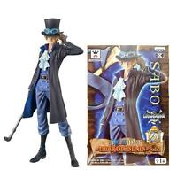 NEW ! One Piece Super SABO 18cm PVC Figure  Action Collectible Model W/ In Box
