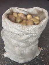 9 x New Large Hessian Sacks 50cm by 80cm Jute Potato Veg Storage Display Bags