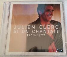 CD NEUF JULIEN CLERC-SI ON CHANTAIT-1968-1997