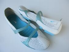 Nike Womens Ballet Flats Size 7 White Leather 8cbdf7a3d