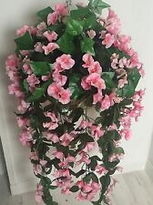 Beautiful Artificial Pink Trailing Hanging Basket Out Of Stock
