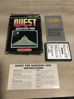 Quest for Quintana Roo  COMPLETE (CIB)   by Telegames   Atari 2600