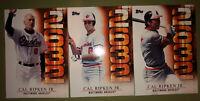 (3) Cal Ripken Jr. 2015 Topps Cards #s 2632-1, 2632-3, 2632-10 Iron Man Orioles
