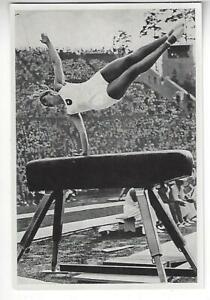 1936 Anita Barwirth, German Olympic Gymnast
