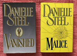 Danielle Steel - Vanished & Malice - Harcover Books