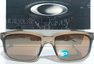 NEW Oakley MAINLINK Brown Sepia Crystal Smoke Polarized Brown Sunglass 9264-06