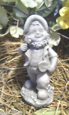 Leprechaun latex mold rubber Irish plaster mold happy gardening leprechaun mold
