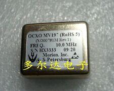 1pc MORION MV197 10MHz 12V 36*27mm Square Wave OCXO Crystal Oscillator