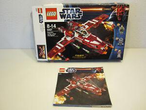 14# LEGO STAR WARS OVP und BA Keine Steine 9497 Republic Striker Leerbox