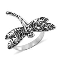 Dragonfly Ring 925 Sterling Silver Jewelry for Women