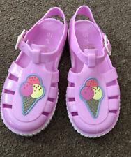 BNWOT Children's Size 10 Lilac / Purple Jelly Shoes / Sandals