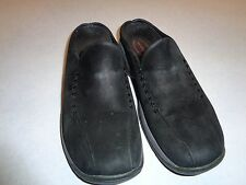 MERRELL PRIMO SEAM BLACK SUEDE MOC SLIP ON SHOE SZ 6.5 M~~CLEAN