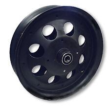 "1) MINI BIKE BLACK STEEL 10"" 2 PIECE WHEEL RIM  FRONT MINIBIKE"