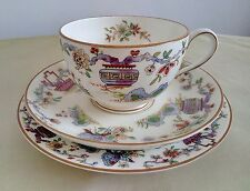 Art Deco Royal Worcester Pekin Trio of Teacup, Saucer & Plate, 1937