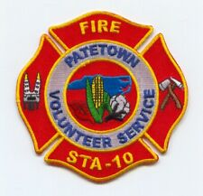 """4/"""" x 4.5/"""" size Charlotte  Station-4  /""""Protectors of the Lair/"""" fire patch NC"""
