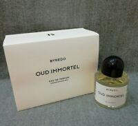 BYREDO Oud Immortel 100 ml 3.3 Fl oz Unisex Eau de Parfum Free shipping New