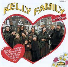 THE KELLY FAMILY : MIT HERZ / CD (KARUSSELL 551 035-2) - NEUWERTIG