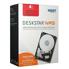 HGST 4TB High-Performance Hard Drive for Desktop NAS System SATA III HDD 0S03664