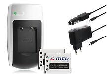 Chargeur+2x Batterie NP-45 NP45 pour Fuji Fujifilm FinePix T400, XP50, Z85, Z110