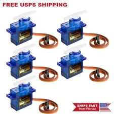 5 x Genuine SG90 Mini Micro Servo For RC Robot Helicopter Airplane Car Boat