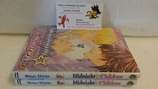 Lot mangas Midnight Children tomes 1 à 2 Intégrale shojo Mayu Shinjo Tonkam