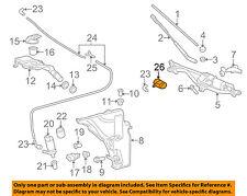 AUDI OEM A4 Quattro Windshield Wiper Washer-Nozzle Spray Jet Right 8T0955988C