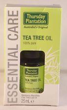 Plantación de jueves de árbol de té 25ml de aceite de