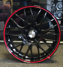 "4 x 17"" ALLOY WHEELS CALIBRE TO FIT FORD FIESTA FOCUS FUSION"