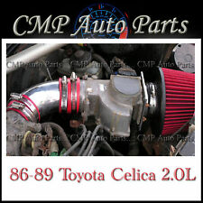 RED 1986-1989 TOYOTA CELICA 2.0 2.0L 4-CYL NON-TURBO AIR INTAKE
