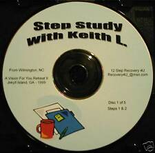 Alcoholics Anonymous 5 CDs 12 Step Workshop Keith Lewis