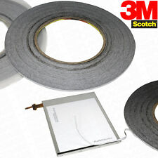 3M 2mm x 50 Meter strong LCD Glass black adhesive bonding iPad phone Samsung HTC