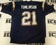 LaDainian Tomlinson Signed Reebok Official Chargers Game Jersey BAS Beckett COA