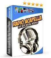 Radio Acapellas Hip Hop Vocal Hooks WAV REX2 Pro Tools Reason MPC Rap FL Studio