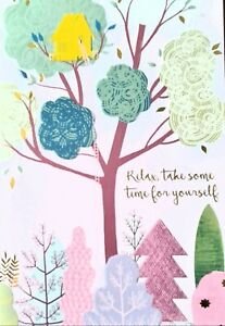 Relax take time for yourself Card