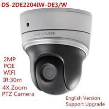 2MP PTZ Camera DS-2DE2204IW-DE3/W 4×zoom IR WiFi PoE H.265+WDR 16x digital zoom