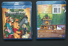 Winnie the Pooh A Very Merry Pooh Year Blu Ray DVD Combo 2013 Christmas New